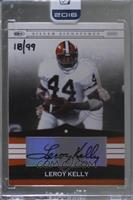 Leroy Kelly (2008 Playoff Silver Signature) /99 [BuyBack]