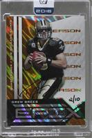 Drew Brees (2010 Panini Epix) /10 [Buy Back]