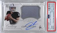 Derek Carr (2014 National Treasures Silver) /2 [PSA 9 MINT]