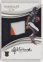 Rookie Patch Autographs - Jordan Howard #/99