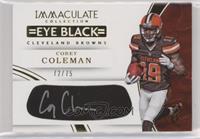 Corey Coleman /75