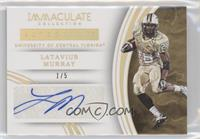 Autographs - Latavius Murray /5