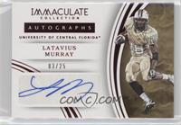 Autographs - Latavius Murray /25