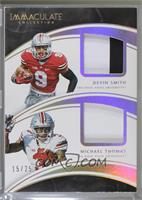 Devin Smith, Michael Thomas [Noted] #/25