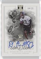 Rookie Autographs - Demarcus Ayers /25