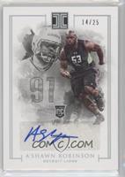 Rookie Autographs - A'Shawn Robinson /25