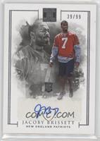 Rookie Autographs - Jacoby Brissett #/99