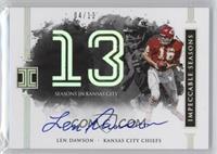 Len Dawson /13