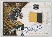 Rookie Patch Autographs - Trevor Davis [EXtoNM] #/25