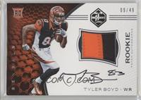 Rookie Patch Autographs - Tyler Boyd #/49