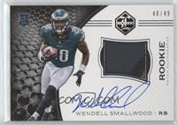 Rookie Patch Autographs - Wendell Smallwood /49