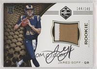 Rookie Patch Autographs - Jared Goff #/149