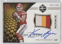Rookie Patch Autographs - Kevin Hogan /299