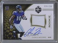 Rookie Patch Autographs - Chris Moore /299