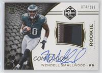 Rookie Patch Autographs - Wendell Smallwood #/299