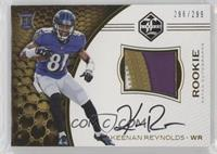 Rookie Patch Autographs - Keenan Reynolds /299