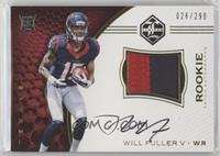 Rookie Patch Autographs - Will Fuller V /299
