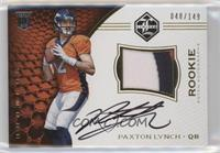 Rookie Patch Autographs - Paxton Lynch /149