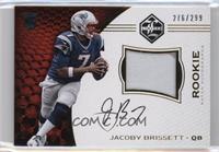 Rookie Patch Autographs - Jacoby Brissett /299