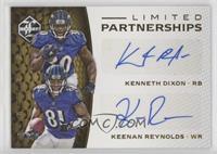 Keenan Reynolds, Kenneth Dixon /49