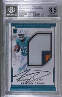 Rookie Autograph Patch (RPS - Kenyan Drake [BGS 8.5 NM‑MT+] #/5