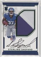 Numbers Rookie Autograph Patch (RPS - Sterling Shepard #/87