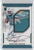 Numbers Rookie Autograph Patch (RPS - Kenyan Drake /32