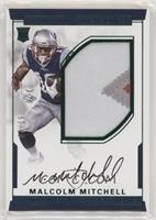 Numbers Rookie Autograph Patch (RPS - Malcolm Mitchell /19