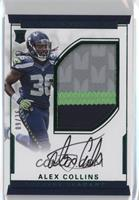 Numbers Rookie Autograph Patch (RPS - Alex Collins #/36