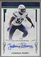Rookie Signatures - Joshua Perry [Noted] #/3