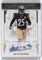 Rookie Signatures - Artie Burns #/49