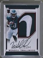 Rookie Autograph Patch (RPS - Wendell Smallwood /2