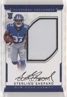 Rookie Autograph Patch (RPS - Sterling Shepard #/99