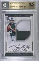 Rookie Autograph Patch (RPS - Christian Hackenberg [BGS 9.5 GEM …