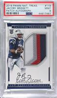 Rookie Autograph Patch (RPS - Jacoby Brissett [PSA 9 MINT] #/99