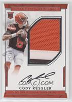 Rookie Autograph Patch (RPS - Cody Kessler #/99