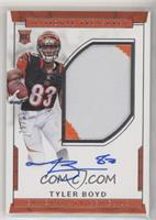Rookie Autograph Patch (RPS - Tyler Boyd #/99