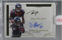 DeAndre Hopkins, Will Fuller V [Uncirculated] #/5