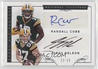 Jordy Nelson, Randall Cobb /25