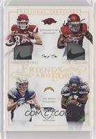 Alex Collins, Hunter Henry #/1