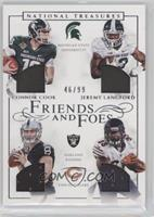 Connor Cook, Jeremy Langford /99