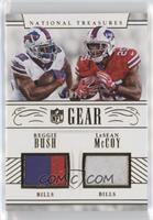 LeSean McCoy, Reggie Bush /25