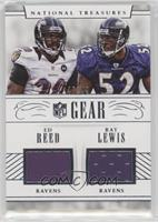Ed Reed, Ray Lewis /49