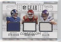 Jared Allen, Justin Houston, Michael Strahan /25