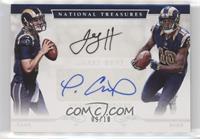 Jared Goff, Pharoh Cooper #/10