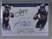 Jared Goff, Pharoh Cooper /10