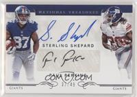 Paul Perkins, Sterling Shepard /49