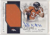 Andy Janovich #34/99