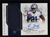 Ezekiel Elliott [Noted] #/49