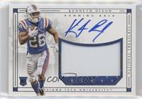Rookie Material Signatures - Kenneth Dixon /99
